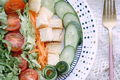 健康食谱之凯撒沙拉