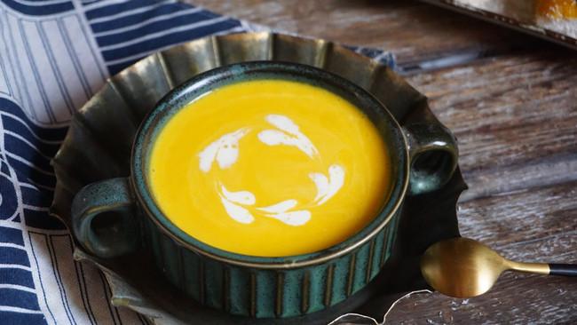 韩式南瓜粥,早餐喝健脾和胃,简单好做,早餐孩子喜欢的做法