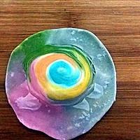 彩虹蛋黄酥的做法图解20