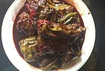虎皮青椒塞肉的做法