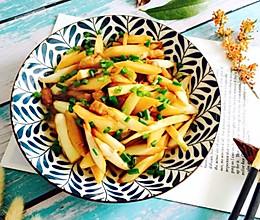 #秋天怎么吃#五花肉炒茭白的做法