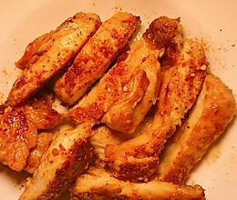 香煎奥尔良鸡胸肉的做法