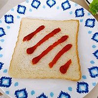 #尽享安心亲子食刻#盐酥鸡滑蛋三明治的做法图解5