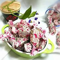面包机版花生蔓越莓牛轧糖