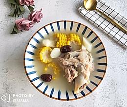 山药玉米红枣大骨汤的做法