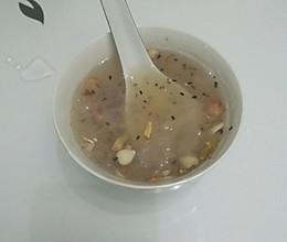 藕粉杏仁茶的做法