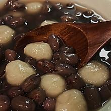 甜甜糯糯:小圆子红豆汤