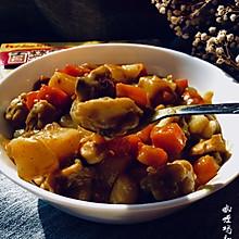 咖喱鸡翅土豆#百梦多圆梦季#