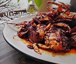 #下饭红烧菜#红烧家常香辣螃蟹的做法