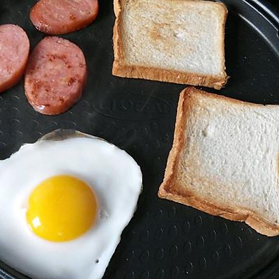 之十分钟搞定美味早餐#利仁电饼铛试用#的做法 步骤4