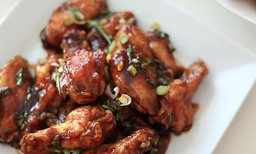 Asian barbecue亚洲烤翅的做法