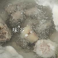 黄豆猪尾汤的做法图解3