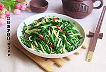 韭菜炒南瓜丝的做法