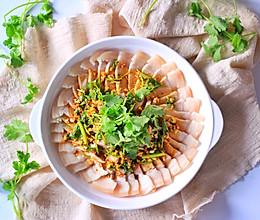 【一食呓语】星级水准秘制蒜泥白肉的做法