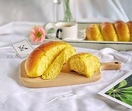 贝贝南瓜排包(中种发酵手揉版)的做法