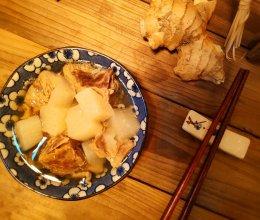 #初春润燥正当时#白萝卜羊肉暖汤的做法