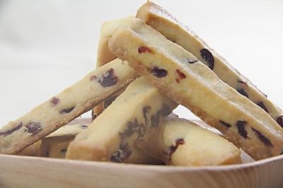 #莓味佳肴# 奶香蔓越莓饼干条