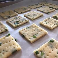 香葱饼干:酥脆化渣#花10分钟,做一道菜!#的做法图解10