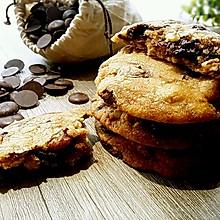 异国美食【褐色黄油巧克力奇普饼干】