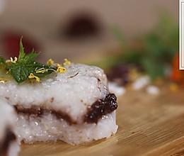 【清·糯米凉糕】 九白佳宴传珍馐,一品凉糕度炎夏的做法