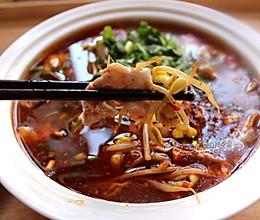 """#美食说出""""新年好""""#水煮肉片的做法"""