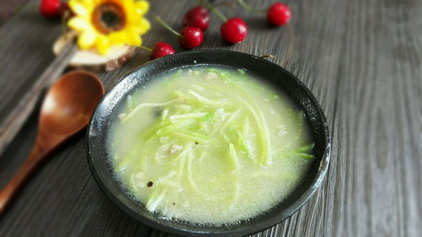 家常鲁菜~萝卜咸汤的做法