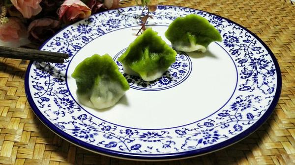 翡翠白玉饺~牛肉香菜馅