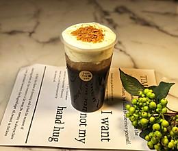 #豆果10周年生日快乐#海盐芝士奶盖咖啡的做法