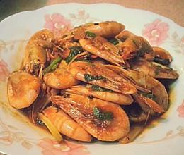 酱烧北极虾的做法