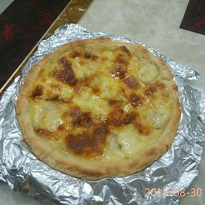 香蕉披萨(8寸薄底的三块)