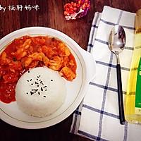 虾仁盖饭#沃康山茶油#