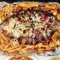 #一人一道拿手菜#麻辣烤鱼的做法图解9