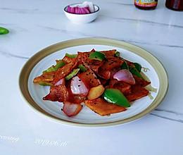 葱椒海鲜酱土豆的做法