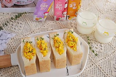 日本人气口袋三明治5分钟快手早餐