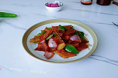 蔥椒海鮮醬土豆