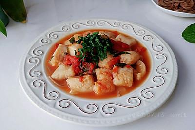 苏椒茄酱焖鱼块