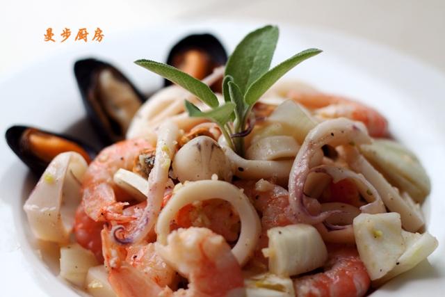 曼步厨房 - 海鲜沙拉