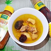 #太太乐鲜鸡汁芝麻香油#香浓土鸡汤