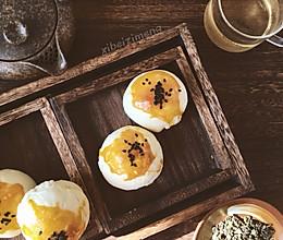 酥皮蛋黄酥#十分钟早餐大挑战#的做法