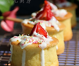 酸奶水果蛋糕杯的做法
