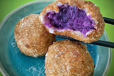 美味拼搭:糯米紫薯