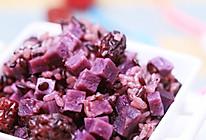 紫薯红枣饭的做法