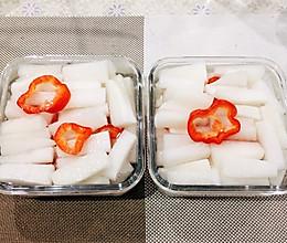 爽口下饭菜——醋萝卜的做法
