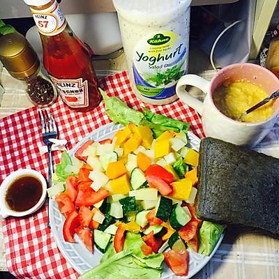 减脂蔬菜沙拉