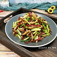 蒜苔肉丝的做法图解9