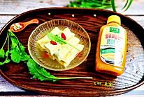 鸡汁荠菜百叶包#太太乐鲜鸡汁蒸鸡原汤#的做法