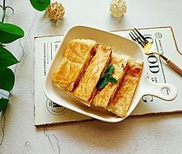 简单快手的手抓饼三明治#营养小食光#的做法