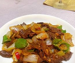 #夏日开胃餐#黑椒牛肉的做法