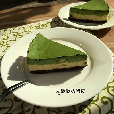 抹茶原味双拼重乳酪蛋糕(8寸)
