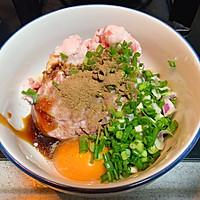 虾仁鲜肉蒸饺简单美味早餐家常菜的做法图解1